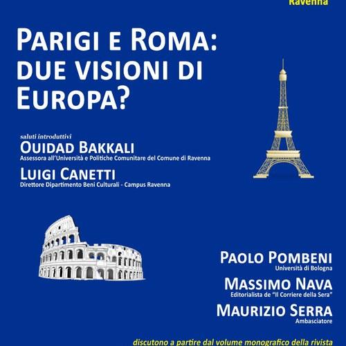 due visioni di europa