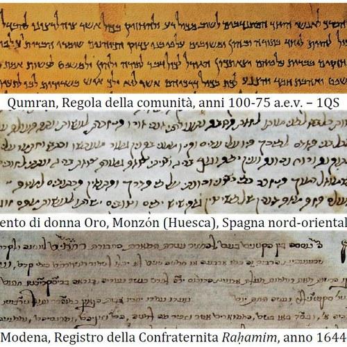 corso intensivo paleografia ebraica
